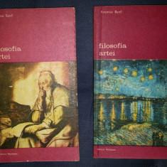 Antonio Banfi FILOSOFIA ARTEI 2 volume Ed. meridiane 1984