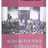 C Stere Scrieri politice si filosofice Ed. Domino 2005 - Istorie