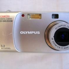 Aparat foto compact digital Olympus Camedia D-540, Sub 5 Mpx, 3x
