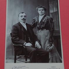Fotografie veche - portret de familie - moda de epoca !!!, Portrete, Europa