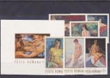 Romania,Pictura nuduri ,Nr lista 768,769.