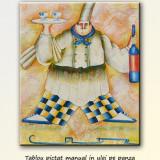 Tablou bucatarie - Bucatar ( 60x50cm ), LIVRARE GRATUITA 24-48h