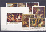 Romania,Pictura vanatoarea,Nr lista 741,742., Nestampilat