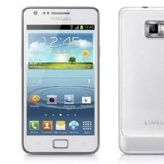 Samsung s2 plus white - doar probat - Telefon mobil Samsung Galaxy S2 Plus, Alb, Neblocat