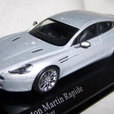 Minichamps Aston Martin RAPIDE Titanium silver 1:43 - Macheta auto