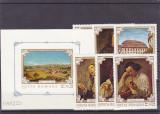 Romania,Pictura simturile,Nr lista 751,752., Nestampilat