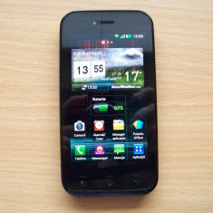 Vand telefon Lg e730 + casti Wireless, Negru, Neblocat