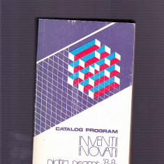 CATALOG PROGRAM -INVENTII INOVATII 88