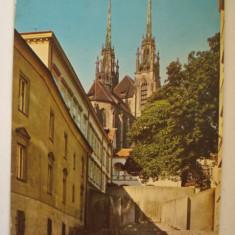 Vederi ( Carti postale) - BRNO - Petrov, Europa, Circulata, Fotografie