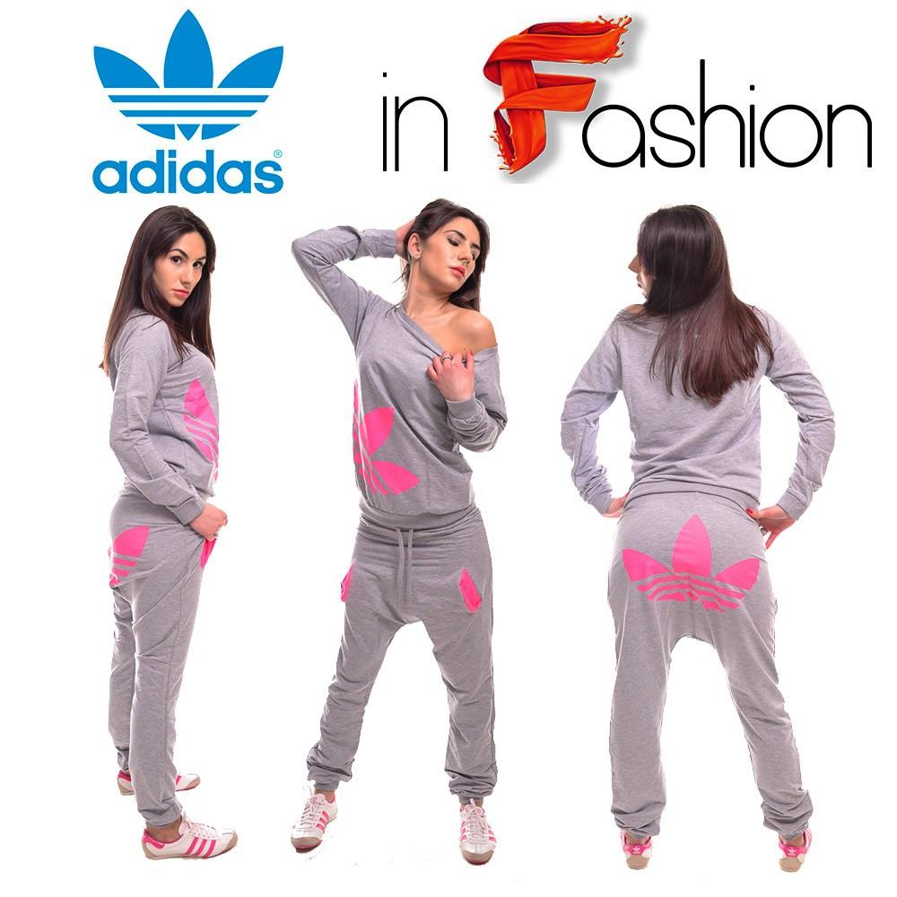 Trening ADIDAS Dama Model 2014 Hip Hop Pantalon cu talie