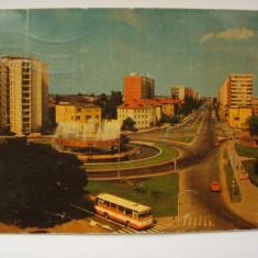 Vederi ( Carti postale ) - TIMISOARA - B-dul Leontin Salajan - Carte Postala Banat dupa 1918, Circulata, Fotografie