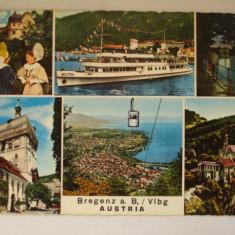 Vederi ( Carti postale) - BREGENZ - AUSTRIA, Europa, Circulata, Fotografie
