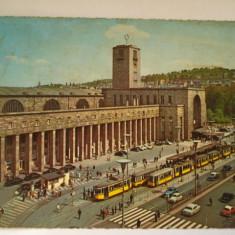 Vederi ( Carti postale ) - STUTTGART, Europa, Circulata, Fotografie