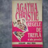 REGELE DE TREFLA SI ALTE POVESTIRI AGATHA CHRISTIE C5 206 - Roman, Anul publicarii: 1993