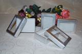Marturii nunta/botez cutie cadou cu geam, CEL MAI MIC PRET DE PE PIATA cutiuta cutii marturie