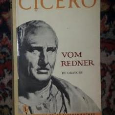 Cicero Vom Redner (in germana) Munchen 1969 - Roman