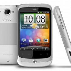 Htc wildfire pret bun - Telefon mobil HTC Wildfire, Alb, Neblocat