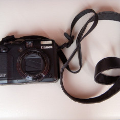 Vand aparat foto compact Canon PowerShot G12, pachet complet, baterie de rezerva, accesorii, 10 Mpx, 4x, 2.8 inch