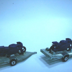 MAJORETTE UZATE -ACCESORII MOTO -SCARA 1/64 !! - Macheta auto