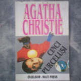 CINCI PURCELUSI AGATHA CHRISTIE C5 205 - Roman