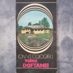 ION V.T.COJOCARU - VALEA DOFTANEI C5 237 - Carte Geografie