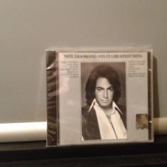NEIL DIAMOND - HIS 12 GREATEST HITS (MCA REC /1985)  CD NOU/SIGILAT-made in USA