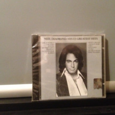 NEIL DIAMOND - HIS 12 GREATEST HITS (MCA REC /1985) CD NOU/SIGILAT-made in USA - Muzica Rock arista