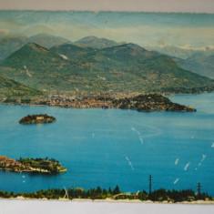 Vederi ( Carti postale) - LAGO MAGGIORE, Europa, Circulata, Fotografie