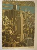 Vederi ( Carti  postale ) - NEW  YORK  CITY, America Centrala si de Sud, Circulata, Fotografie