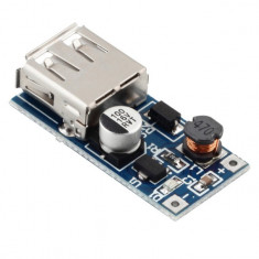 Incarcator USB 0.9V-5V to 5V DC-DC Booster Module USB Mobile Step-up