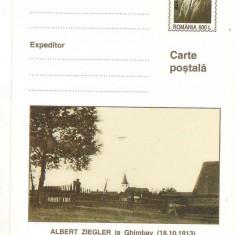 #carte postala-Editia de lux)-ALBERT ZIEGLER la Ghimbav(18.10.1913)-marca fixa