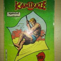 Revista benzi desenate Kamikaze - 1983 - contine 4 benzi desenate si 2 nuvele - Reviste benzi desenate Altele