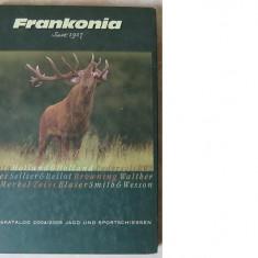Frankonia 2004/2005(Catalog de arme si echipament de vanatoare), Germany, 576 pag. color