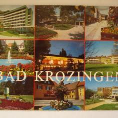 Vederi ( Carti postale) - BAD KROZINGEN, Asia, Necirculata, Fotografie