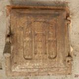 Usa din fonta veche pentru soba teracota, reducere - Metal/Fonta