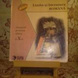 Nicolae Manolescu - Limba si literatura romana manual pentru clasa a X a - Manual scolar, Clasa 10, Alte materii