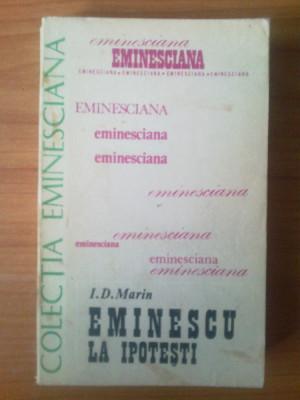 n5  Eminescu la Ipotesti - I. D. Marin foto