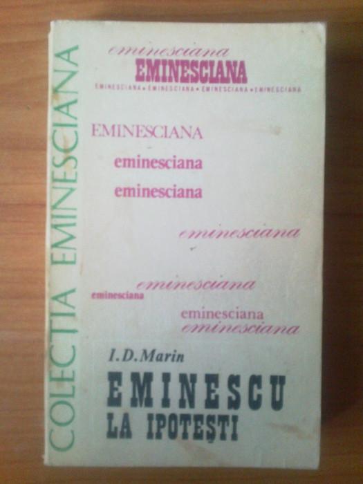 n5  Eminescu la Ipotesti - I. D. Marin