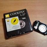 Aparat foto digital Nikon COOLPIX L27, 16.1MP, Black - Aparat Foto Nikon Coolpix L27