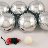 Joc Petanque ( Petanca ) cu 6 bile metalice - pentru 3 persoane - Nou - Jocuri Logica si inteligenta