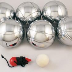 Joc Petanque (petanca) cu 6 bile metalice, pentru 3 persoane - Jocuri Logica si inteligenta