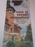 PLIANT TURISTIC/CASE SI LOCURI MEMORIALE