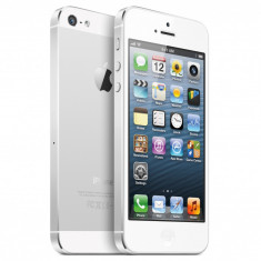 iPhone 5 Apple Alb 16GB, NOU (din garantie), Neblocat