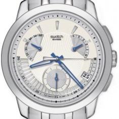 Ceas Swatch barbatesc cod YRS402G - pret 1170 lei (NOU; Original) - Ceas barbatesc Swatch, Casual, Quartz, Inox, Cronograf