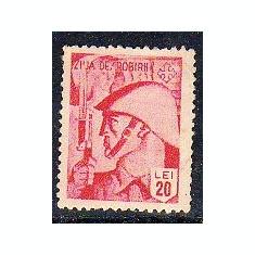 FISCAL, COTIZATIE, ZIUA DEZROBIRII, 20 LEI - Timbre Romania