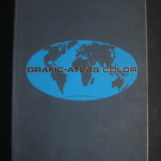 GEOGRAFIC ATLAS COLOR {limba spaniola, 1977}