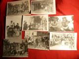 Set 13 Fotografii cu Regizor Mircea Dragan la turnare Film Stefan cel Mare