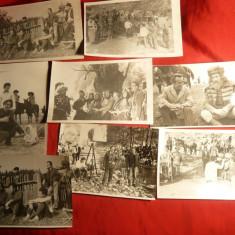 Set 13 Fotografii cu Regizor Mircea Dragan la turnare Film Stefan cel Mare - Fotografie