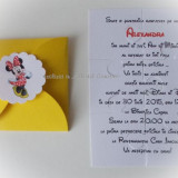Invitatie botez (puzzle) - Minnie