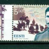 Estonia.2009 90 ani batalia de la Gut Paju  HE.261